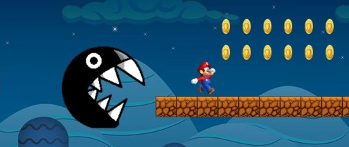 Ultimate Mario Run screen